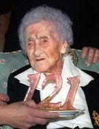 Jeanne Calment (forrás: Wikipedia)