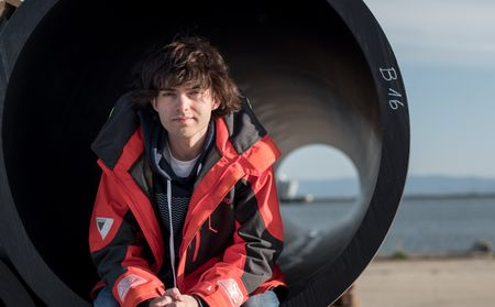 Boyan Slat (Fotó: The Ocean Cleanup)