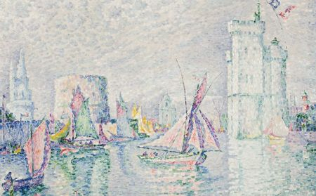 The Port of La Rochelle - Paul Signac