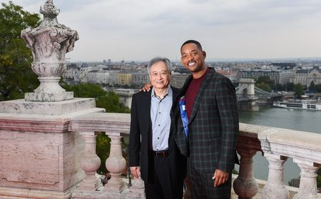 Ang Lee és Will Smith Budapesten