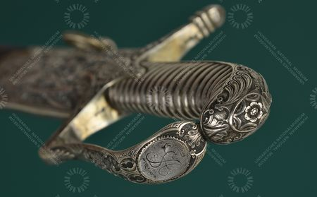 Sabre of Count and Prime Minister Andrássy Gyula, made around 1840