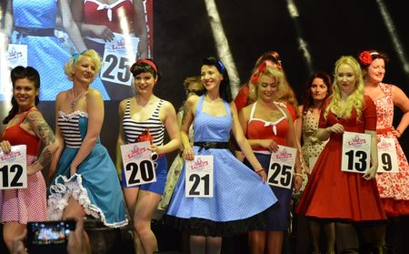 Miss Pin Up verseny